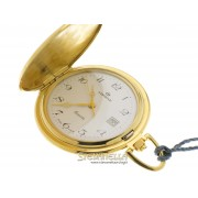 Lorenz pocket watch placcato oro con coperchio 11444AA.