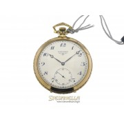 Longines pocket watch argento vermeille carica manuale  4912293.