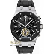 Audemars Piguet Royal Oak Chronograph Tourbillon ref. 26377SK.OO.D002CA.01 nuovo full set
