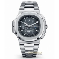 Patek Philippe Nautilus Travel Time Jumbo ref 5990/1A-001 nuovo full set