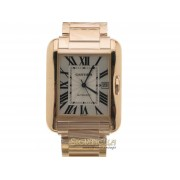 Cartier Tank Anglaise XL ref. W5310002 oro rosa 18kt nuovo full set