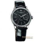 Rolex Cellini Date ref. 50519 oro bianco 18kt nero nuovo