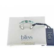 BLISS anello Color oro bianco smeraldi e diamanti referenza K31210 new