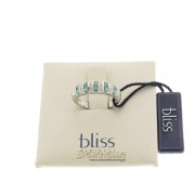 BLISS anello Color oro bianco 18kt smeraldi e diamanti referenza 20046611