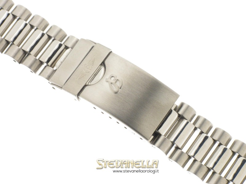 rapporto qualità-prezzo pensieri su Los Angeles BREITLING Bracciale acciaio modello Shark