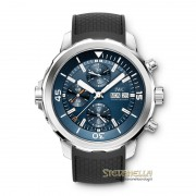 IWC Aquatimer Chrono Edition Expedition JACQUES-YVES COUSTEAU ref. IW376805 nuovo full set