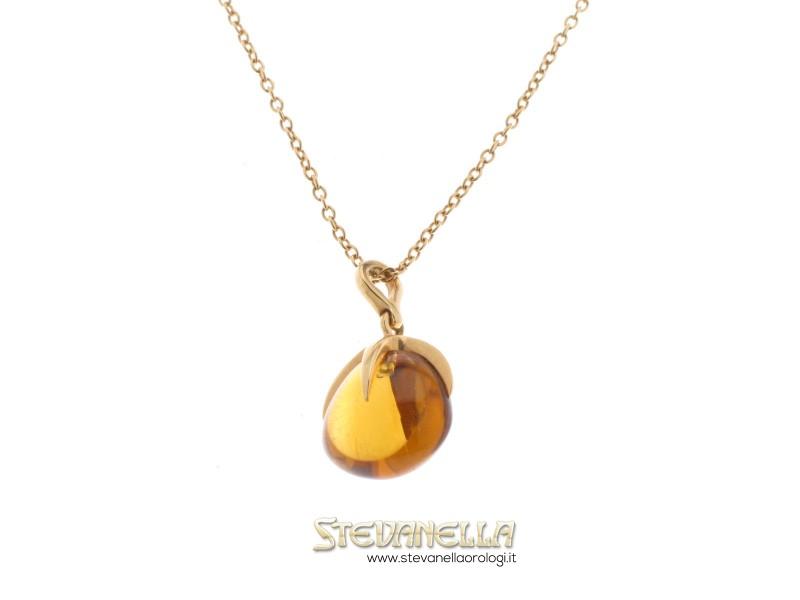 sito affidabile 28ce1 36a8d POMELLATO collana oro giallo con topazio citrino ref. F ...