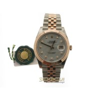 Rolex Datejust 2 ref. 126301 Jubilee Madreperla Diamanti nuovo full set