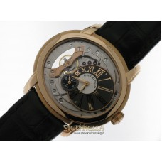 Audemars Piguet Millenary Skeleton 4101 ref. 15350OR.OO.D093CR.01 oro rosa 18kt full set