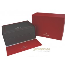 Tudor Fastrider Black Shield Ceramic ref. 42000CN pelle nuovo full set