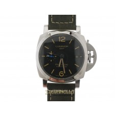 Panerai Luminor 1950 3 Days GMT Automatic ref. Pam01535 nuovo full set