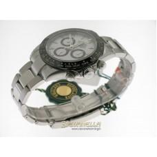Rolex Daytona ref. 116500LN Oyster bianco nuovo full set