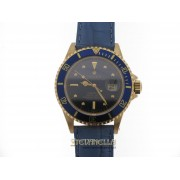 Rolex Submariner Blue Nipple dial ref. 16808 oro giallo 18kt