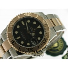 Rolex Yacht-Master 37mm ref. 268621 Oyster nero nuovo full set