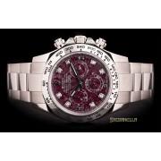 Rolex Daytona Grossularia diamanti ref. 116509 Oyster oro bianco 18kt full set
