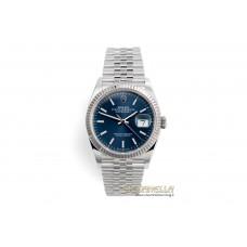 Rolex Datejust 36mm Blu ref. 126234 jubilee nuovo