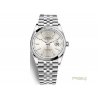 Rolex Datejust 36mm ref. 126200 Silver Jubilee nuovo