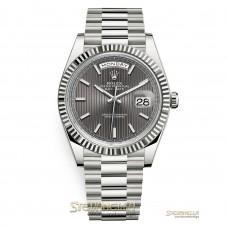 Rolex Daydate 40mm ref. 228239 President rhodium nuovo