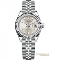 Rolex Lady-Datejust 28 ref. 279174 Silver jubilee nuovo