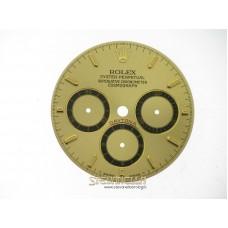 Quadrante Rolex Daytona Champagne Trizio 4 Scritte 16528 16518 16523
