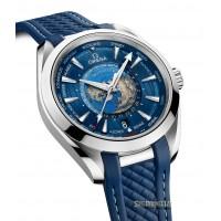 Omega Seamaster Aqua Terra 150m Gmt ref. 220.12.43.22.03.001 nuovo