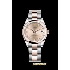 Rolex Datejust 31mm Oyster Pink diamanti ref. 278241 nuovo