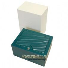 Rolex Lady-Datejust 28 Verde Oliva Diamanti ref. 279171-0007 nuovo