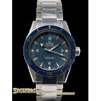 Omega Seamaster 300 Co-axial Master ref. 233.90.41.21.03.001 blu titanio nuovo
