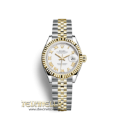 Rolex Lady-Datejust 28 bianco Romani ref. 279173 nuovo