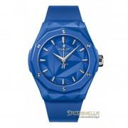Hublot Classic Fusion Orlinski Blue Ceramic 40mm ref. 550.ES.5100.RX.ORL21 nuovo