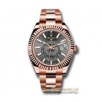 Rolex Sky Dweller Oro rosa 18kt Rhodium 326935 nuovo