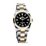Rolex Explorer I ref. 124273 acciaio oro giallo 18kt nuovo