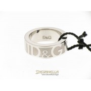 D&G anello Freedom acciaio mis.12 referenza DJ0113 new